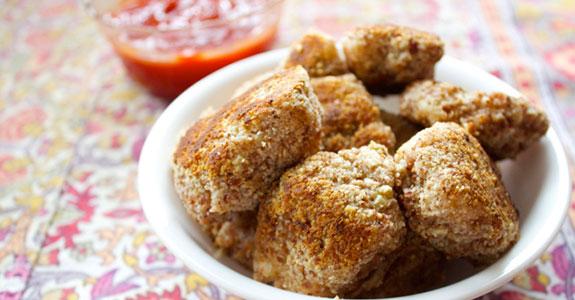 Bacon Encrusted Chicken Nuggets