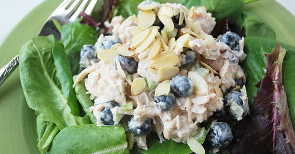 Blueberry Almond Chicken Salad