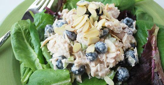 Blueberry Almond Chicken Salad