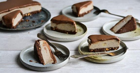 Chocolate Banana Split Cream Pie
