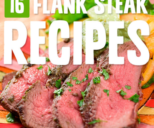 A perfectly done flank steak is one of my favorites, and it's so easy to follow one of these flank steak recipes that in no time I've got a tasty meal for the fam.