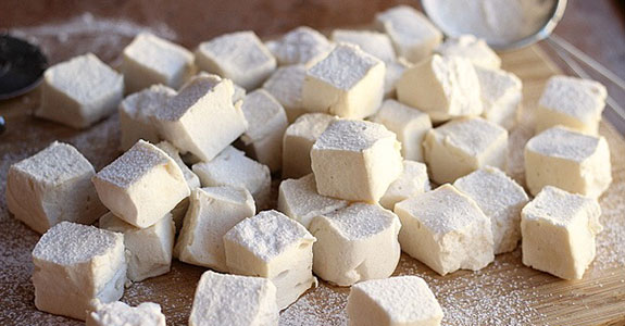 Honey and Stevia Marshmallows