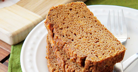 Paleo Cinnamon Spice Sweet Potato Bread