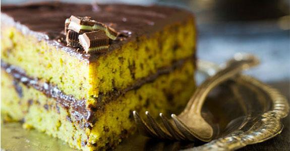 Paleo Mint Chocolate Cake