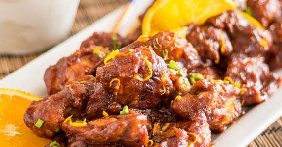 Paleo Orange Sesame Chicken