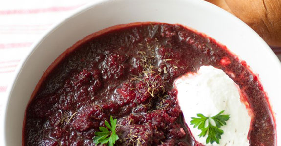 Vegan Beetroot and Carrot Soup