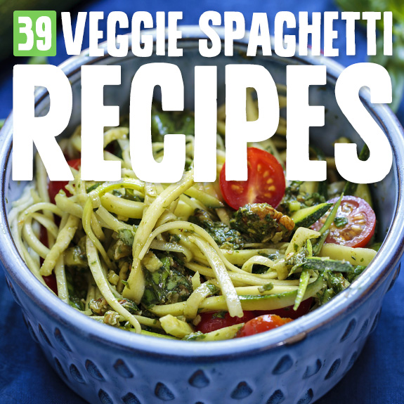 Replace your traditional spaghetti with these no grain, no gluten veggie spaghetti recipes! Eat low carb and eliminate the sugar spikes you get from traditional spaghetti.