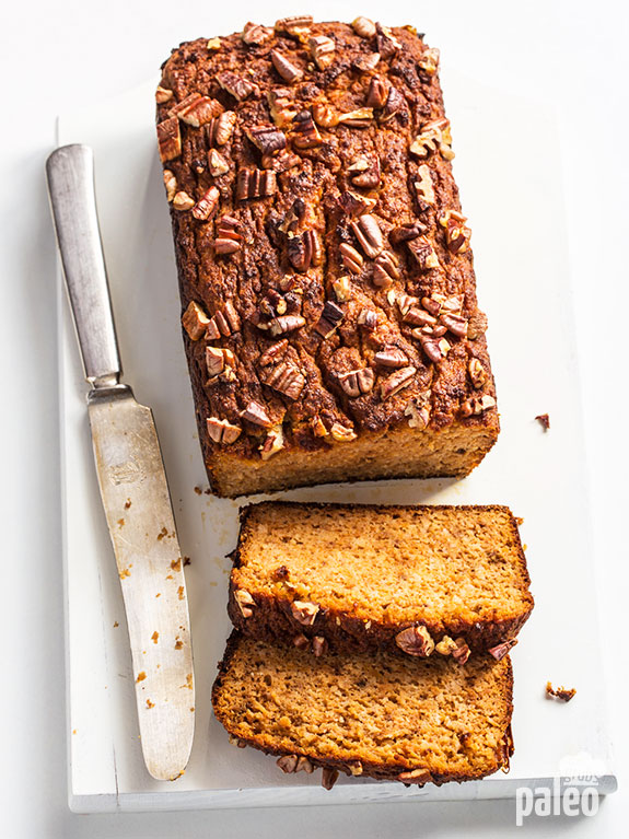 Sweet potato bread with pecans is a great way to enjoy bread while still eating healthy! Try it and see for yourself.