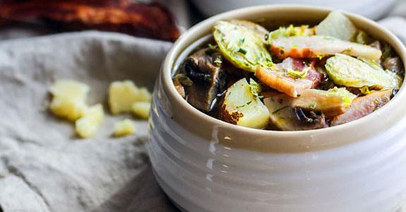 Bacon Veggie Soup