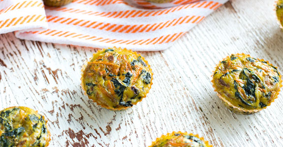 Make-Ahead Kale and Sweet Potato Egg Cup