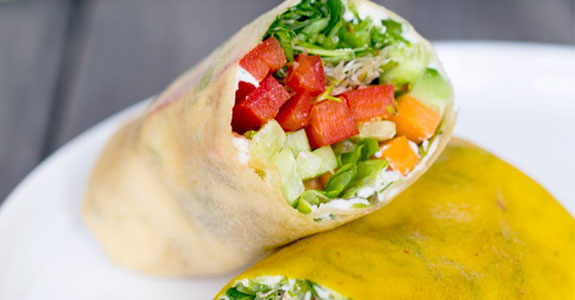 ucumber Dill Veggie Wraps With Coconut Wrappers