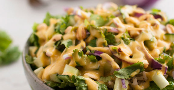 Curry Green Salad