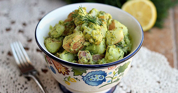 Fresh and Clean Potato Salad