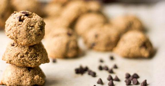 Grain Free Almond Butter Cookies