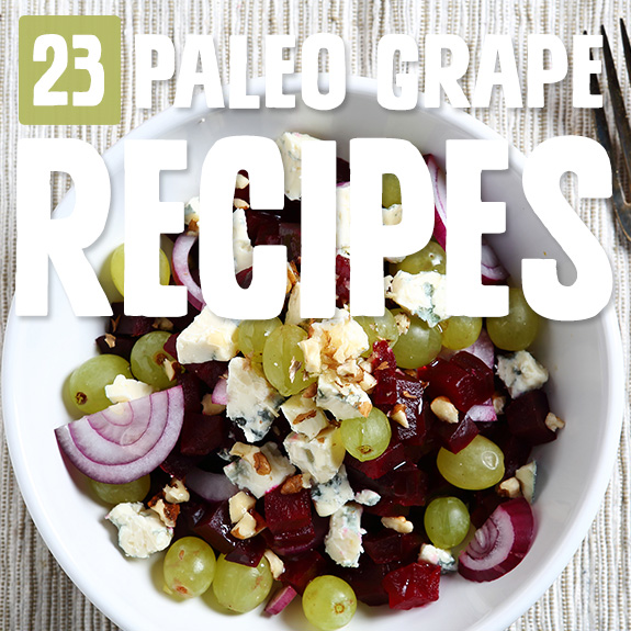 Grapes are a nice sweet fruit you can enjoy with Paleo, and I love how these chefs have incorporated grapes into these grape recipes.