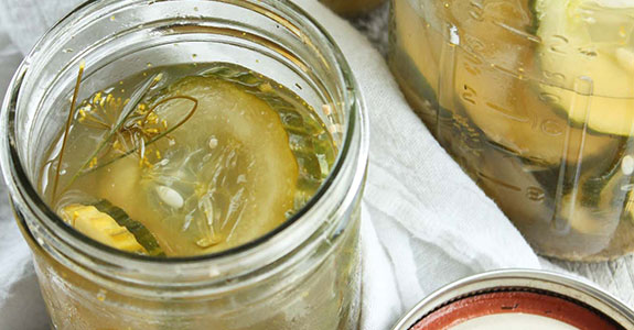 Homemade Overnight Refrigerator Pickles