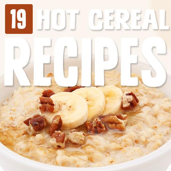 No hay nada que me guste más que acurrucarme en un tazón de cereal caliente en una mañana fría. ¡Disfruta de estas recetas de cereales calientes para un gran día garantizado!