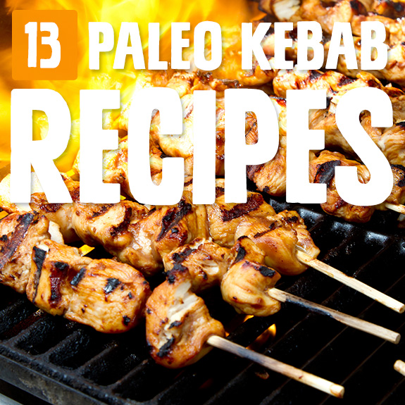 If you ask me, there's just something about cooking meat on a stick that makes it taste great. So here's a collection of Paleo kebab recipes to enjoy!