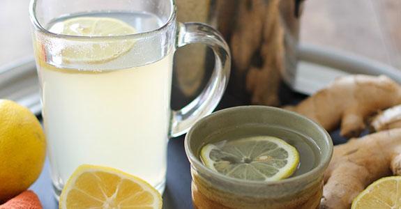 Lemon-Ginger Detox Toddy