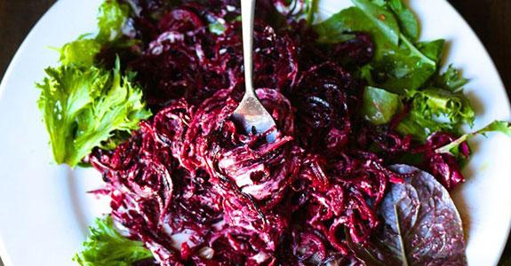 Mast-O-Khiar Persian Beet Salad