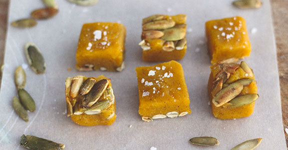 Paleo Pumpkin Caramels