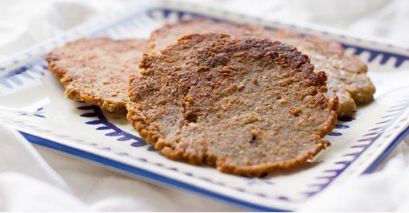 Primal Parmesan (or Nutritional Yeast) Flatbread
