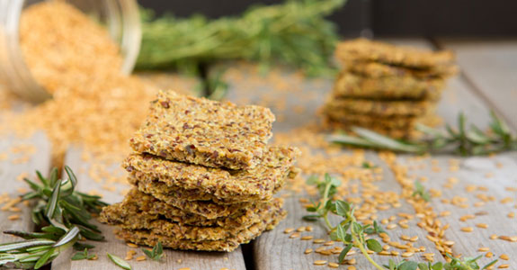 Roasted Herb Crackers