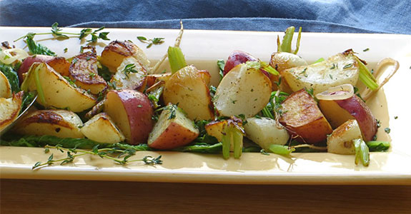 Turnips, Potatoes, and Greens