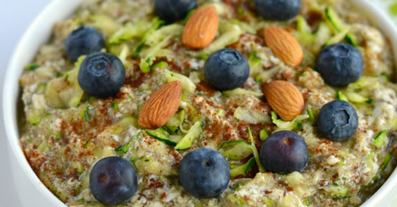 Zucchini Oatless Oatmeal