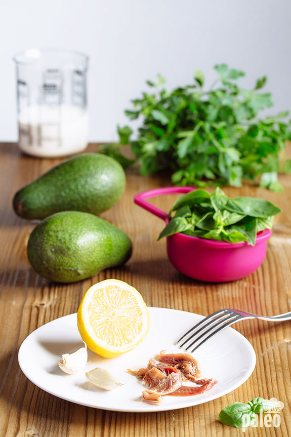 green goddess dip ingredients