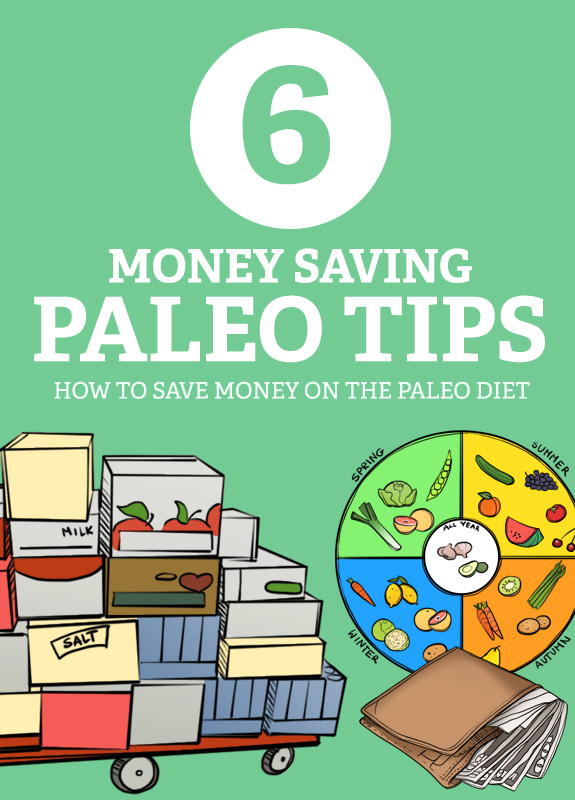 Save money every month and make the Paleo diet more affordable with these money-saving Paleo tips.