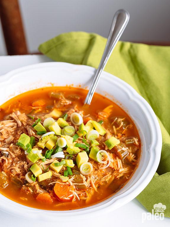 Slow Cooker Taco Soup | Paleo Grubs