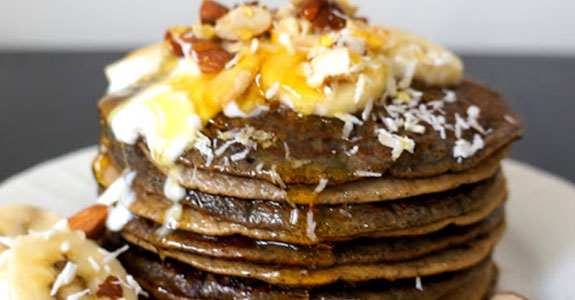 Acai and Lucuma Pancakes