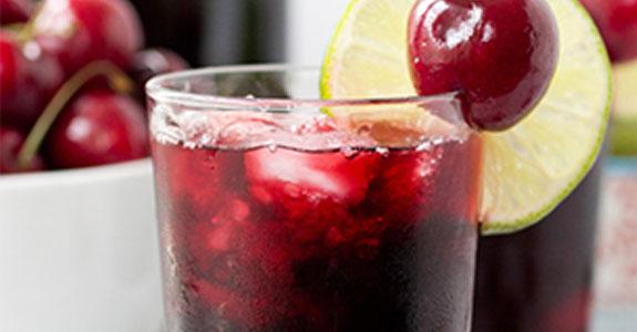Cherry Lime Slushie