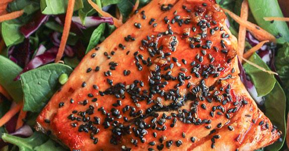 Honey Lime Salmon Filets