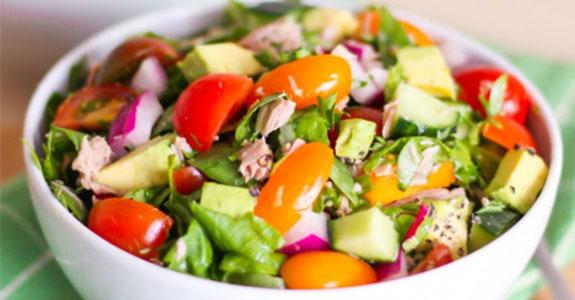 Power Greens Tuna Salad
