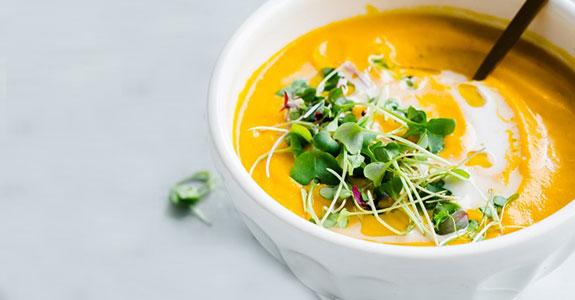Vegan Garam Masala Carrot Soup