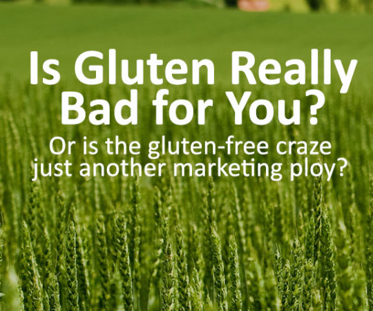 Is gluten really that bad for you? Or is the gluten-free craze just another marketing ploy? Read to find out.