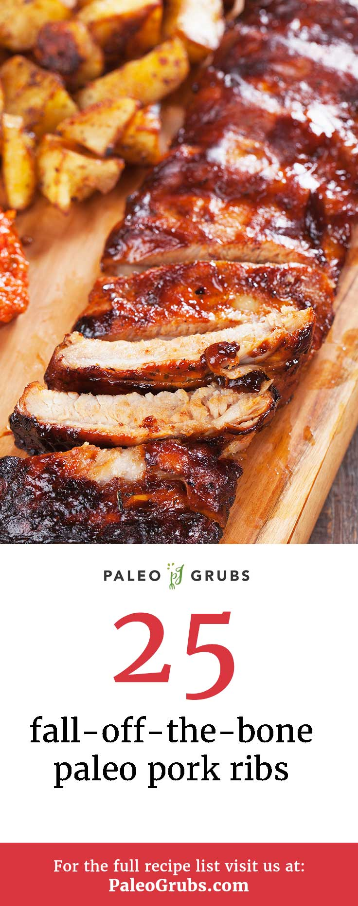 Few things are better than perfectly cooked ribs. Do what I did and try out some of these amazing pork ribs recipes, all perfectly Paleo.  Ah, ribs. Sticky, messy, and perfectly delicious. Great on the grill or in the oven. The possibilities for ribs and their sauces are endless, so try out some of these paleo-friendly recipes for your next barbecue.