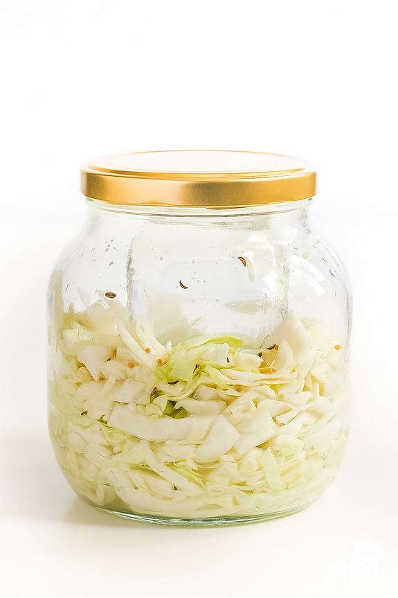 sauerkraut jar