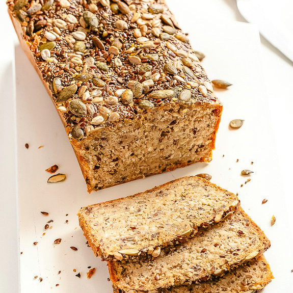 Seed and Nut Sandwich Bread | Paleo Grubs