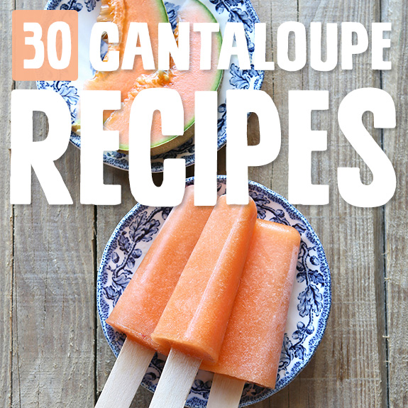 Soft and sweet, there's nothing quite like cantaloupe on a hot day. These cantaloupe recipes are perfect for days when I want something sweet, but not too sweet.