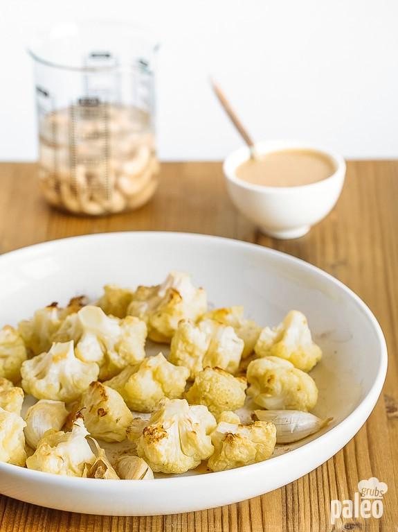 Cashew Hummus Ingredients