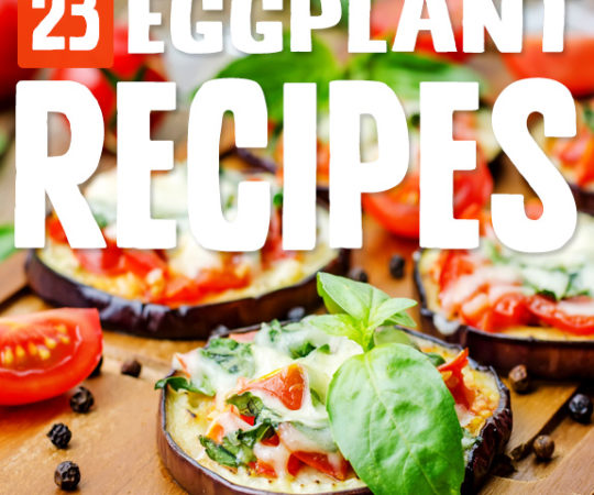 Eggplants are getting their moment in the sun with these eggplant recipes. They're so versatile I should have been using them in my cooking long ago!