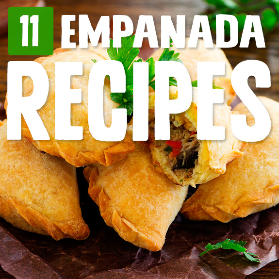 Careful, these empanada recipes can be addicting. They do such a great job at making traditional empanadas that I just can't help myself!