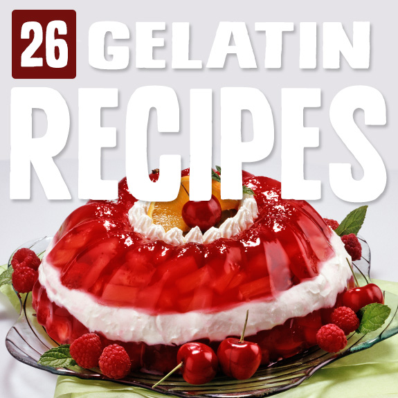 I was blown away by just how many different kinds of dishes you can make with gelatin, and how many different ways you can make it. These gelatin recipes show you how.