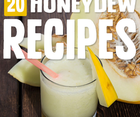 I can't get enough of these honeydew recipes! Each one shows a new way to use these gorgeous melons.