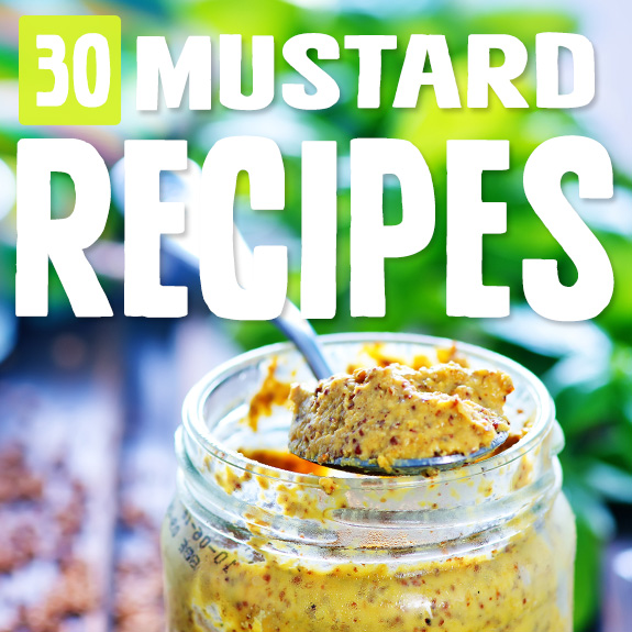With a supply of mustard powder you're good to go, and these mustard recipes show you how to make the most of it. I can't get enough of the yellow stuff!