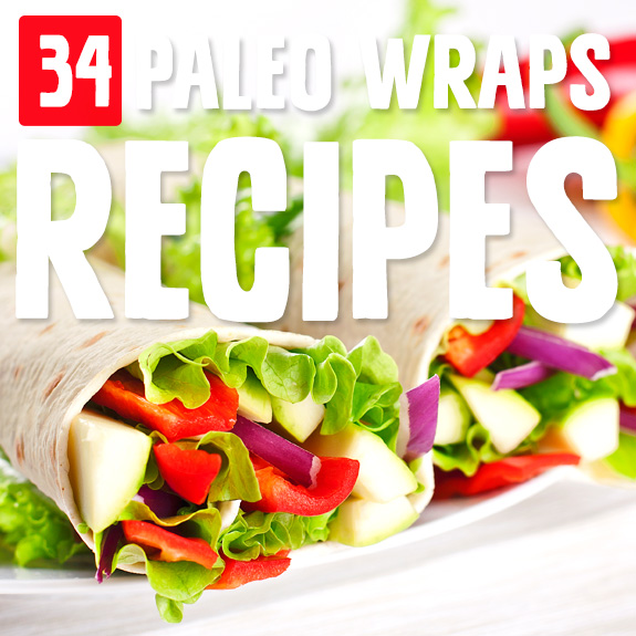 I'm in love with many of the wraps in this collection of wraps recipes. A great go-to lunch or anytime snack!