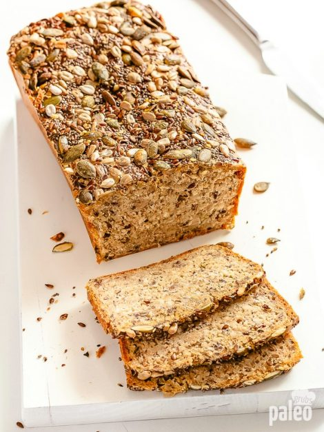 Seed And Nut Sandwich Bread Paleo Grubs